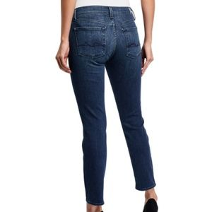 7 For All Mankind High Waist Roxanne Jeans Size 29